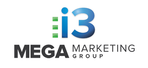 i3 mega marketing group logo